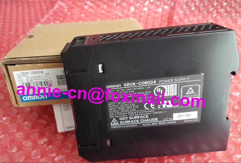 S8VK-C06024  New and original  OMRON  1pc used omron s8vs 06024