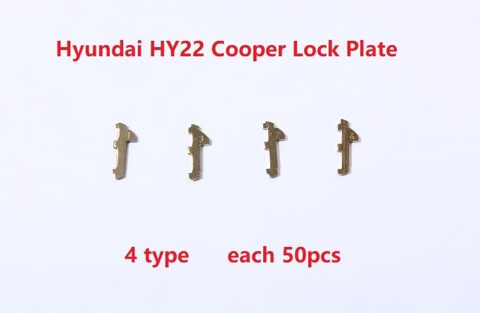 (200 Stücke) Hy22 Auto Lock Reed Locking Reparaturarbeiten Platte Für Hyundai Ix30 35 S8 K5 Verna Neue Sportage E. T. C Professionelles Design