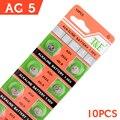 100% Original Botão AG5 393 SR754W SR48 Bateria Alcalina Botão de Célula Tipo Moeda Baterias Para Relógio x 10 1.55 V EE6206