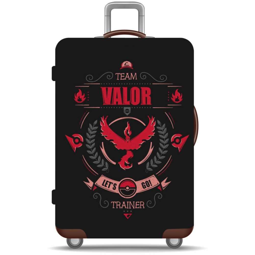 Japanese Anime Washable Pokemon Theme Luggage Protective Suitcase Cover