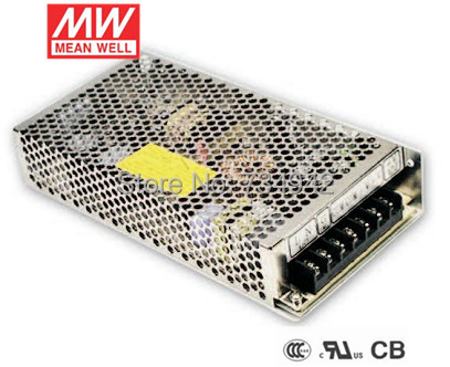 MEANWELL 24V 150W UL Certificated NES series Switching Power Supply 85-264V AC to 24V DC meanwell 24v 75w ul certificated nes series switching power supply 85 264v ac to 24v dc