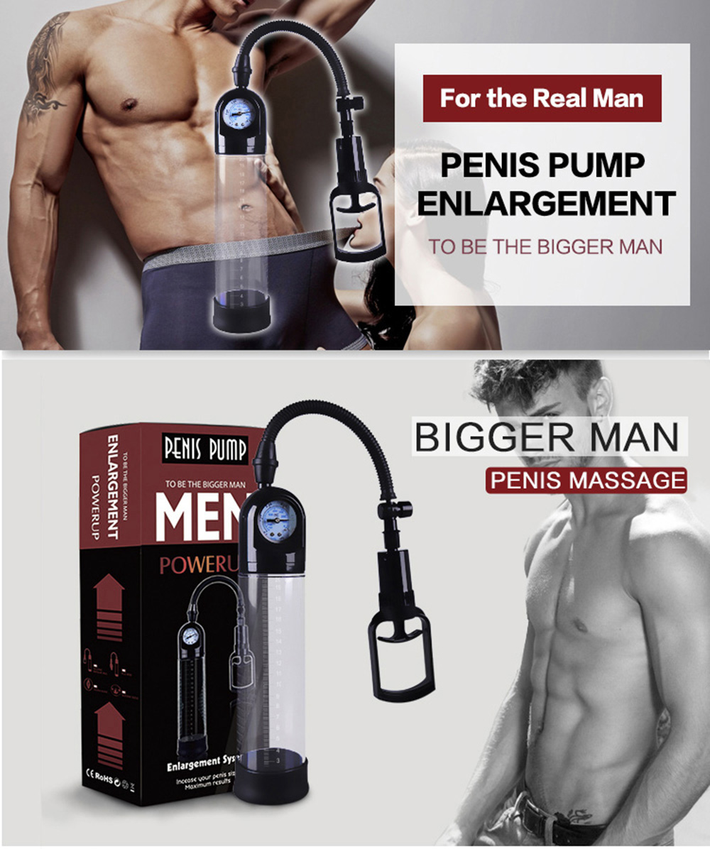 CANWIN Manual Penis Pump Enlargement Pumps Strong Suction Sex Toy Adult Product penis enlargement extender for Men 1