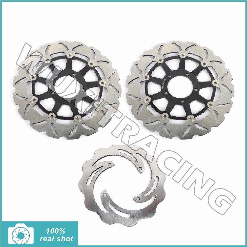BIKINGBOY Новый полный комплект передние задние тормозные диски ротора для Ducati ХАЙПЕРМОТАРД 796 800 1100 с Эво СП 2007 2008 2009 2010 2011 2012