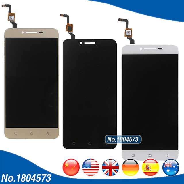 1920*1080 A6020a46 LCD For Lenovo K5 Plus A6020 A46 LCD Display and Touch Screen Digitizer 5.0 inch Glass Panel Len 1PC/Lot