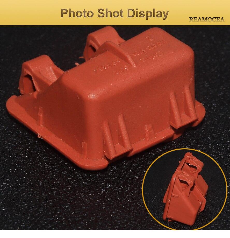 Reamocea 1U0823570A Orange Plastic Car Roomster Hood Bonnet Rod Stay Bracket Buckle Clip For Skoda Fabia Octavia MK2 2004-2013 (13)
