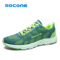 Socone Super Cool Breathable Running Shoes Men And Women Sneakers Cushioning Outdoor Sport Shoes Professional Training