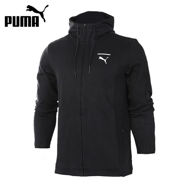 Original New Arrival 2017 PUMA  Evo Core FZ Hoody Men's  jacket Hooded  Sportswear толстовки puma худи figc azzurri zip hoody