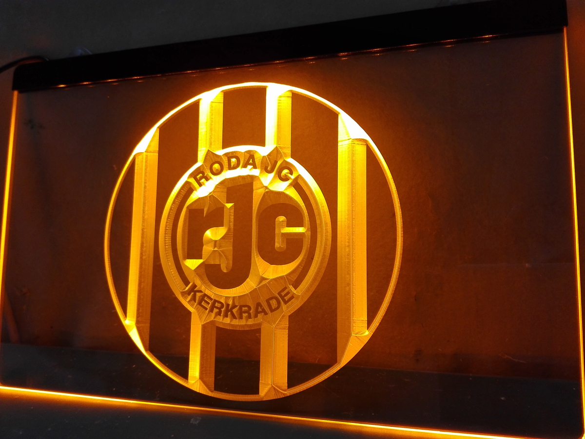 ZH009y- Roda JC Kerkrade Sportvereniging Roda Juliana Combinatie Kerkrade Eredivisie Football LED Neon Sign