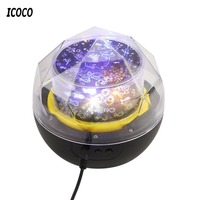 ICOCO USB LED Night Light Projector Night Lamp Romantic Star Sky Galaxy Nightlight For Children Kids