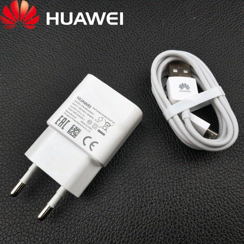 Купить Huawei Y7 премьер Зарядное устройство 5 v 1a ЕС стены Кабель micro usb зарядки адаптер питания для honor 8x 7x y6 Prime 2018 y5 2018 смартфон на Алиэкспресс