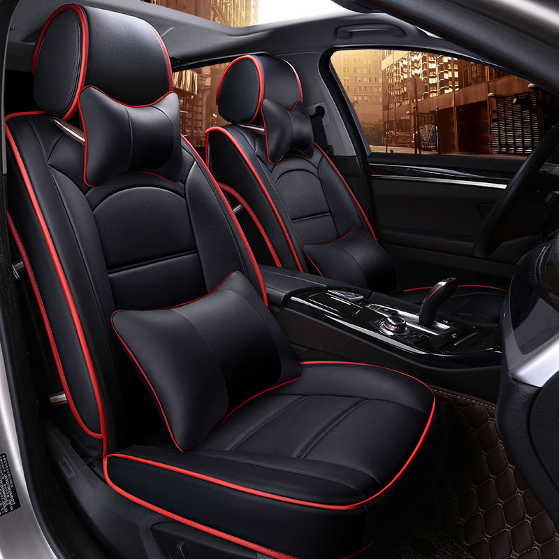 Luxury 3D sports custom card seat cover universal cushions car mats car styling for the BMW Audi ...