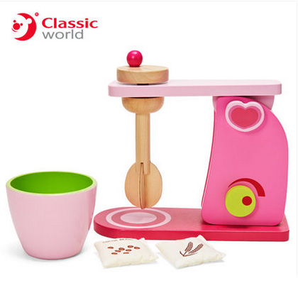 Classic world Pink Children Kitchen toy Wooden Mixer toy girl gift set 3 - 6 Multifunction Educational Toys Birthday Gift creative wooden math toy baby children maze toys intellectual development of children s educational classic toys gifts