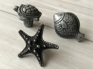 Starfish Knob Dresser Knob Drawer Knobs Pulls Handle Kitchen Cabinet Door  Knobs