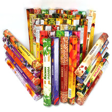 New Mixed Smell India Incense Stick Handmade Aromatherapy Sticks 20 per box Sandalwood Lavender Jasmine Incenses