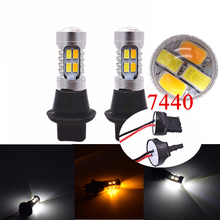 Car Led Bulbs DRL Daytime Running Light Front Turn Signals font b Lamp b font For
