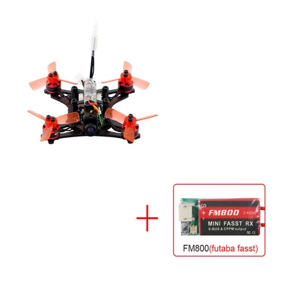 90GT PNP With FASST FM800 Receiver Mini 4CH Brushless FPV Racing Drone 800TVL Camera RC KINGKONG Quadcopter F19934 mini 90gt pnp 4ch brushless drone fpv 800tvl camera rc racing with frsky ac800 receiver brushless kingkong quadcopter f19933