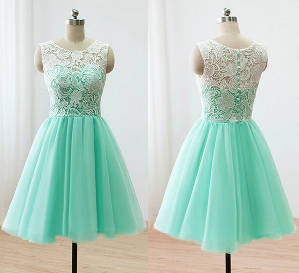 Dresses To Wear At A Wedding | Chiffon Red Green A Line Sweetheart Elegant Party Short Embroidery