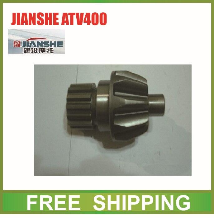 Agresivo Jianshe 400cc Atv Motor Conducción Bevel Gear Accesorios Envío Gratis Textura Clara