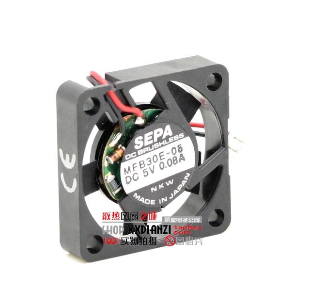 3 CM MFB30E-05 3006 5 V 0.08 Ultra Slim ultra silencioso ventilador de refrigeração