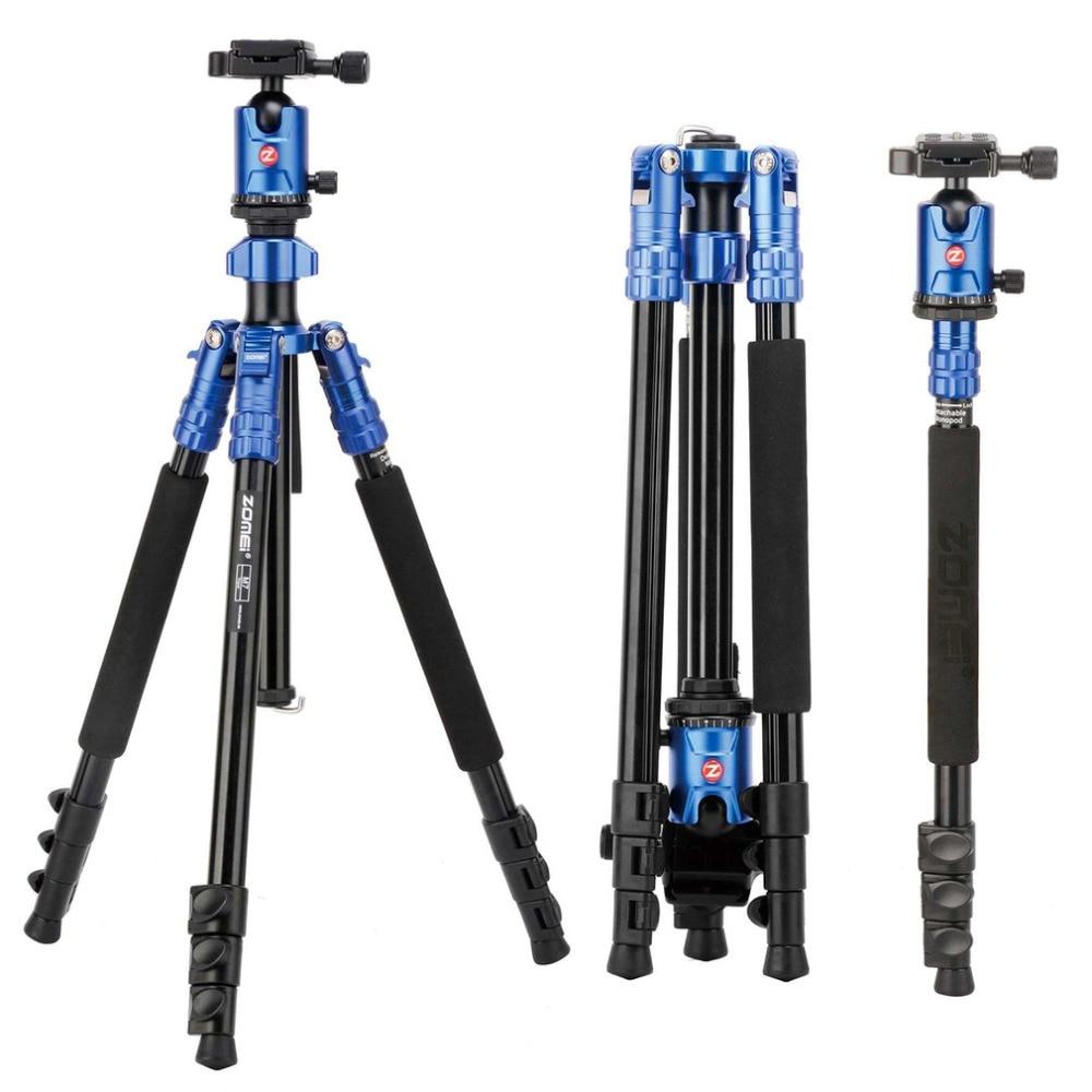 ZOMEI M7 חצובה אביזרי עבור מקצועי מצלמות חצובה מגנזיום אלומיניום סגסוגת חדרגל עבור SLR חיצוני מצלמה חצובה Stand