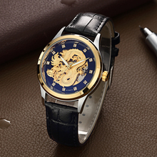 WLISTH2019 New Watch Self-winding Mechanical Mens Luxury Automatic Self-Wind Relogio Masculino