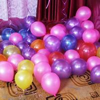 100pcs/lot 10inch 1.2g Round Latex Balloons Kid Toys Children's Day Birthday Party Float Balloons Engagement Wedding Decoration