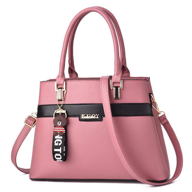 Luxury Brand Designer Women 39 s Leather Handbags Crossbody Handbag For Women Shoulder Bags Messenger Bag Green Red Summer 2019 New in Shoulder Bags from Luggage amp Bags