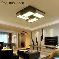 Светодиодный потолочный светильник в американском стиле для спальни  кабинета  столовой  персонализированная креативная теплая потолочна...