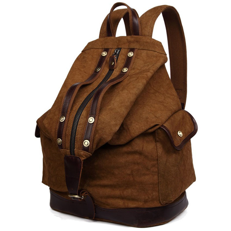 New Vintage Trendy Backpack Durable Canvas Backpack Leisure Travel Bags Unisex Laptop Backpacks Men Backpack new fashion vintage backpack canvas backpack teens leisure travel school bags laptop computers unisex backpacks men backpack