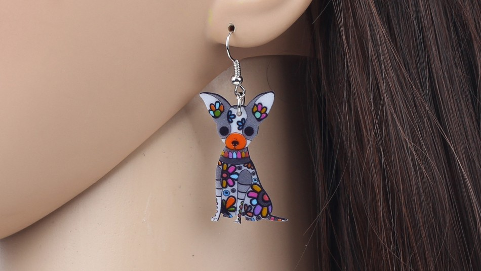 Boucles oreilles Chihuahua
