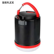 Brilex Solar Lights LED Garden Lamp USB Rechargeable 18650 Battery Portable Light for Outdoor Emergency Camping Hiking