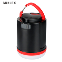 Brilex Solar Lights LED Garden Lamp USB Rechargeable 18650 Battery Portable Light for Outdoor Emergency Camping Hiking Portable
