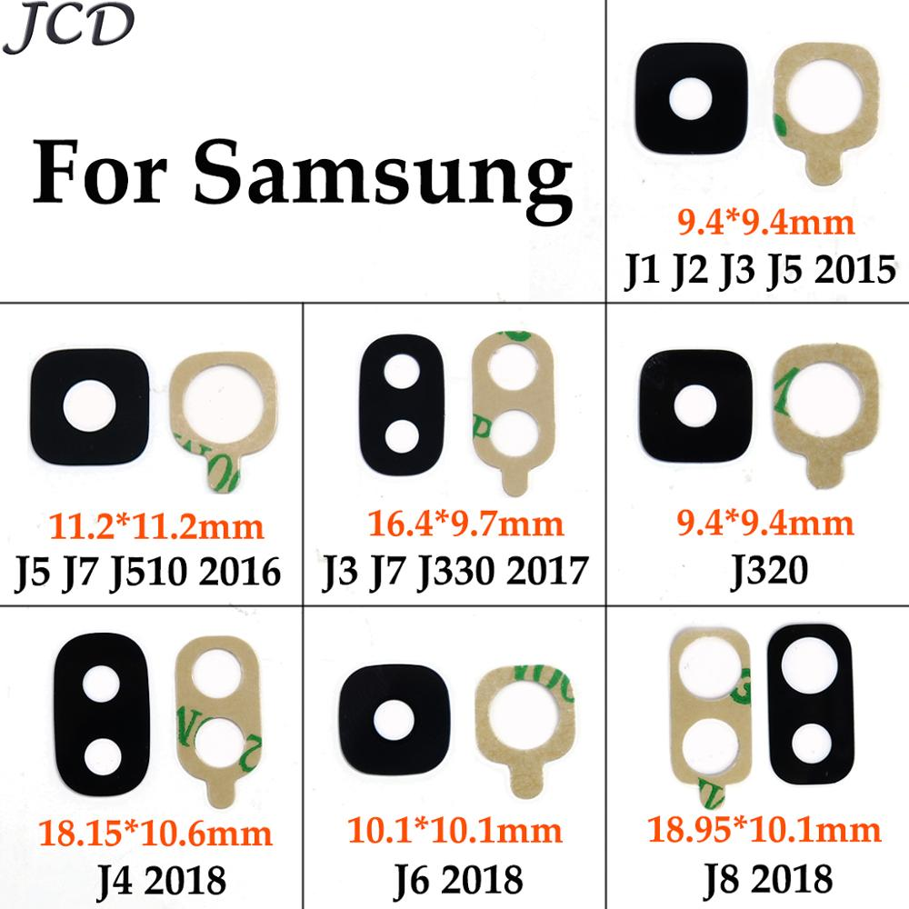 JCD Back Rear Camera Glass Lens Ring For Samsung Galaxy J1 J2 J3 J5 J7 J510 J710 J330 J530 J730 J320 J6 J8 2018 2017 2016 2015
