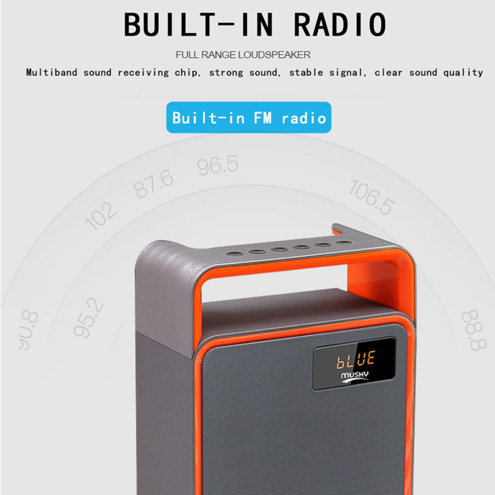 Wireless Bluetooth Loudspeaker 3