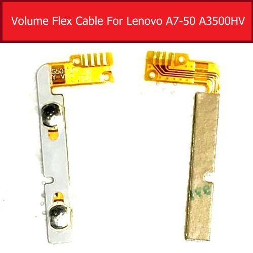 Genuine Up/down Control Volume Flex Cable For Lenovo Tab A7-60HC P3550 Audio Control Side Key Button Connector Flex Cable Parts