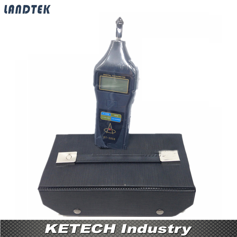 DT2856 Laser Tachometer Portable Digital Tachometer dt 2856 photo touch type tachometer dt2856