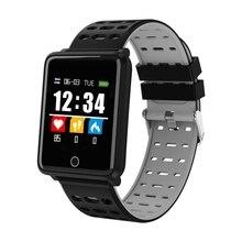 цена на F3 Smart Watch men 1.44 Colorful Screen Heart Rate Blood Pressure Monitor IP68 Waterproof GPS relogio inteligente Vs mi band 3 4