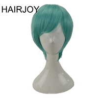 HAIRJOY Synthetic Costume Short Straight   Cosplay     Wig   Purple Blue Blonde Green Brown Hair   Wigs   6 Colors Available Free Shipping