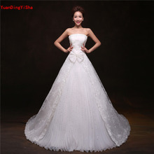 YuanDingYiSha Real Pictures Lace Wedding Dress A-Line