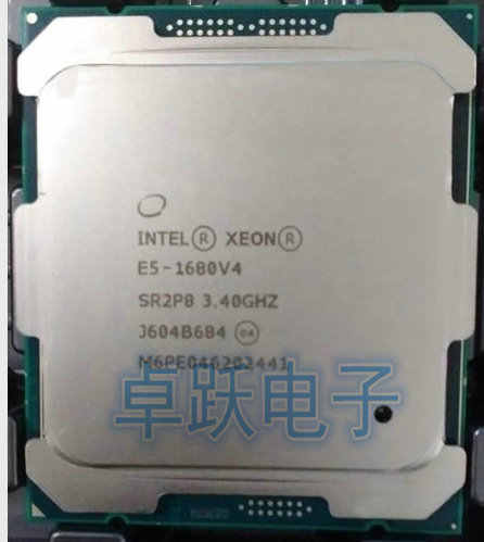 E5-1680 V4 Original Intel Xeon OEM version E5-1680V4 3.40GHZ 8-Core 20MB SmartCache 140W E5 1680V4 LGA2011-3 free shipping
