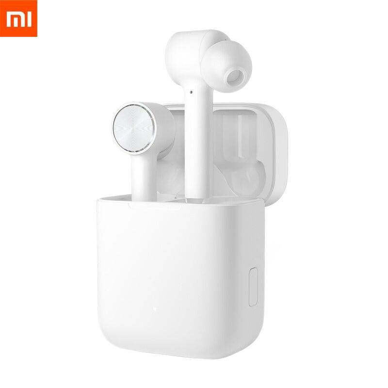 在庫 Xiaomi 空気 TWS ヘッドセット Bluetooth 真のワイヤレスステレオスポーツイヤホン ANC スイッチ ENC 自動一時停止タップ制御スマートタッチ  グループ上の 家電製品 からの Bluetooth イヤホン & ヘッドホン の中 1