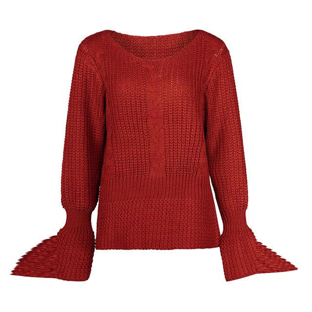 women winter knitted clothes 2017 red pullover top loose oversize outwear tops women clothing for maternity - Maternity Christmas Sweater