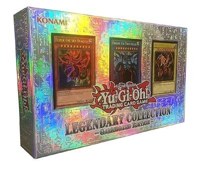 YU GI OH US et Europe édition européenne LC01 trois dieu magique boîte cadeau Collection carte garçons filles jouets cadeaux