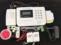 LCD GSM PSTN Dual Network Wireless Home Sistema de Alarme de Segurança