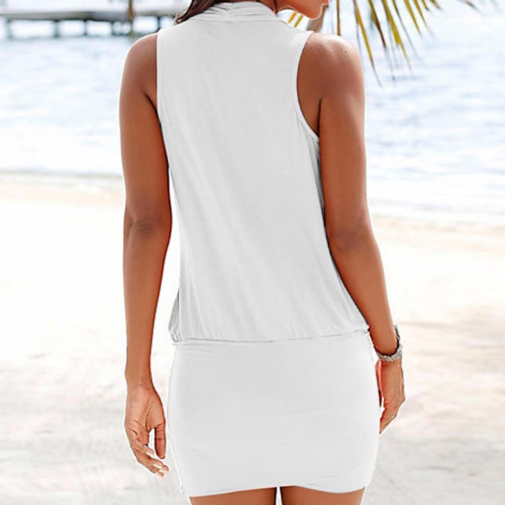 HTB1sWmLaL1G3KVjSZFkq6yK4XXaD FREE OSTRICH Casual Womens Summer Dress Retro Party Beach Beach Sun Dress Office Lady V-neck Sleeveless Loose Workwear