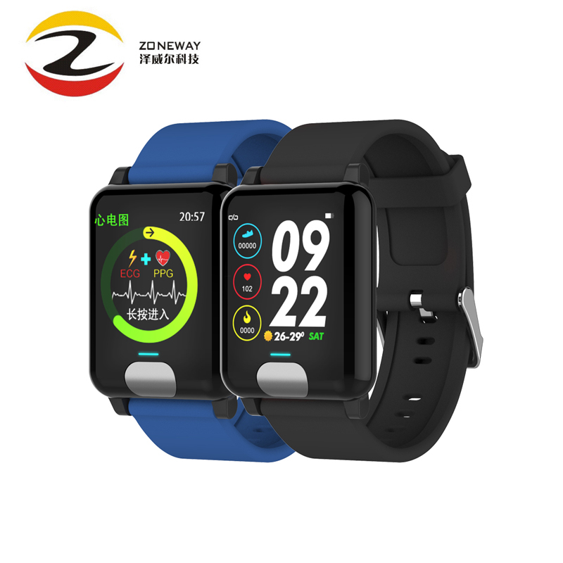 E04 Smart Bracelet Fitness Tracker ECG/PPG Blood Pressure Heart Rate Sleep Monitor Waterproof Smart Watch for Xiaomi Android IOSE04 Smart Bracelet Fitness Tracker ECG/PPG Blood Pressure Heart Rate Sleep Monitor Waterproof Smart Watch for Xiaomi Android IOS