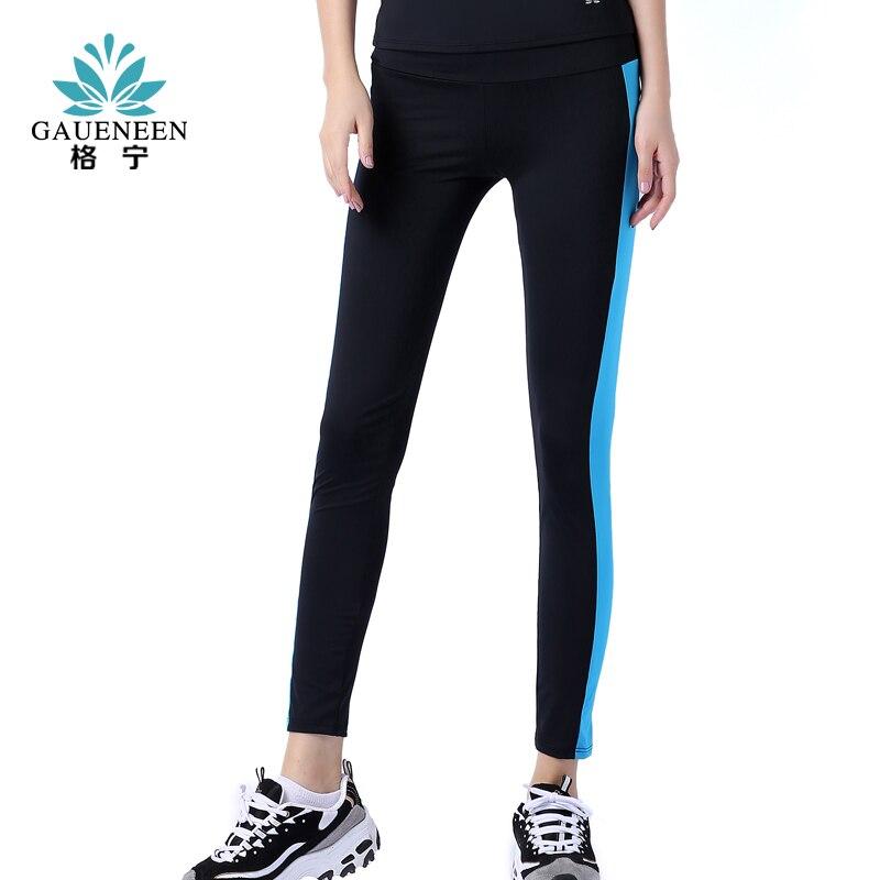 GAUENEEN New Yoga Sports font b Leggings b font For Woman Sports Tight Yoga font b