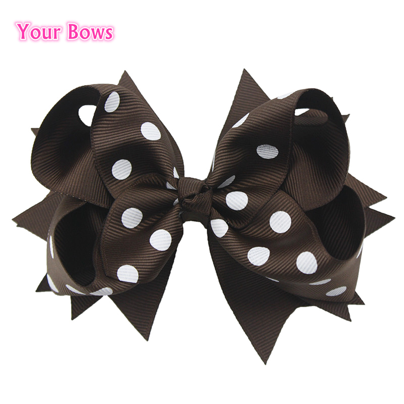bows 1pcs 5 inches kids classic