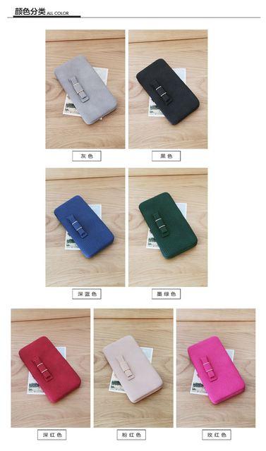 Purse wallet card cellphone holders money bag clutch bag
