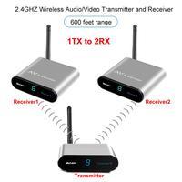 new AV220 2.4GHz Wireless AV Sender TV Audio Video Transmitter Receiver Adapter